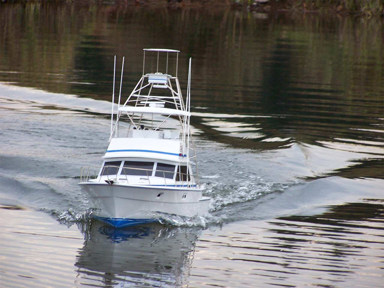 Model boats by captains models for Rc fishing boat for sale